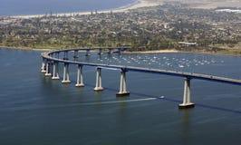 San Diego lo accoglie favorevolmente fotografie stock