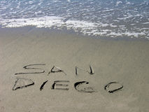 San Diego lo accoglie favorevolmente Immagini Stock