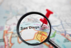San Diego mag Royalty Free Stock Photo