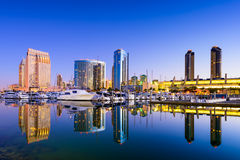 San Diego Marina Stock Photo