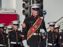 San Diego Marine Band toont van de buitengewone Toernooien van famou Royalty-vrije Stock Afbeeldingen