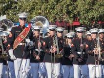San Diego Marine Band toont van de buitengewone Toernooien van famou Royalty-vrije Stock Foto