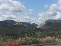 San Diego Mountains Foto de archivo libre de regalías