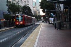 San Diego, MTS stockbilder