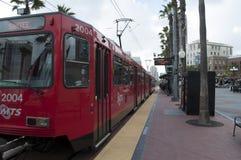 San Diego MTS pociąg Fotografia Stock