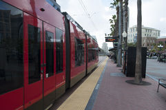 San Diego MTS Train Stock Images