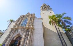 San Diego Museum del hombre en el parque del balboa - SAN DIEGO - CALIFORNIA - 21 de abril de 2017 Imágenes de archivo libres de regalías