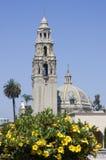 San Diego Museum dell'uomo nel parco della balboa a San Diego, California Fotografia Stock Libera da Diritti