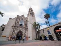 San Diego Museum des hommes en parc historique de Balboa photo stock