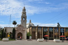 San Diego Museum of Man in Balboa Park in San Diego, California Royalty Free Stock Photo