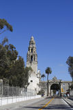 San Diego Museum of Man and entrance to Balboa Park in San Diego, California Stock Photography