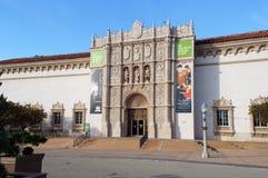 San Diego muzeum sztuki w balboa parku Zdjęcie Stock