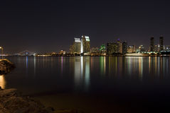 San Diego na noite Imagens de Stock