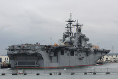 San Diego Navy Shipyard. The Navy Shipyards in San Diego, California Royalty Free Stock Image