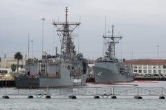San Diego Navy Shipyard Stock Image