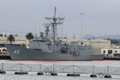 San Diego Navy Shipyard. The Navy Shipyards in San Diego, California Stock Images
