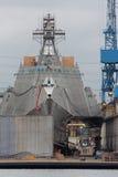 San Diego Navy Shipyard Royalty Free Stock Photos