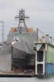 San Diego Navy Shipyard Stock Images