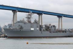 San Diego Navy Shipyard Royalty Free Stock Photo
