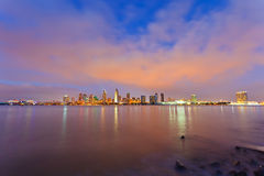 San Diego at night Stock Photo