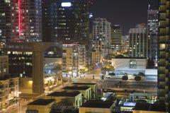 San Diego Night Royalty Free Stock Photo