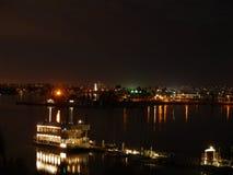San Diego night scene Royalty Free Stock Image