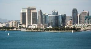 San Diego od accoss zatoka Obraz Royalty Free