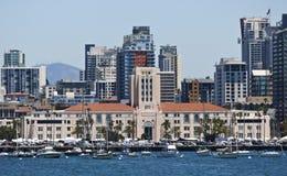 San Diego okręgu administracyjnego i miasta administraci budynek fotografia stock