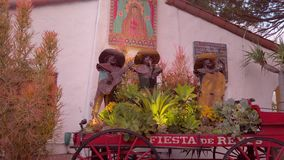 San Diego Old Town - Fiesta Del Reys - SAN DIEGO, USA - 1. APRIL 2019 stock video