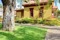 San Diego old town museum buidling. San Diego old town museum buidling of Whaley house museum shop Royalty Free Stock Image