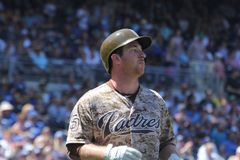 San Diego Padres royalty-vrije stock afbeelding