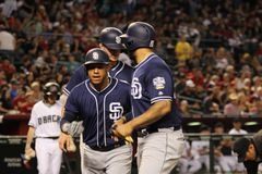 San Diego Padres Obrazy Royalty Free