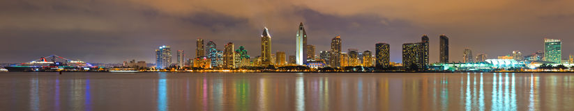 San Diego panorama Royalty Free Stock Images