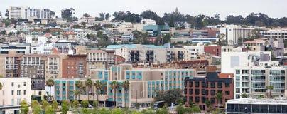 San Diego Panorama Stockbild
