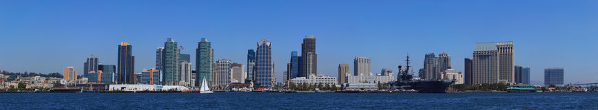 San Diego panoramique Photo libre de droits