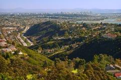 San Diego panorâmico Fotos de Stock Royalty Free