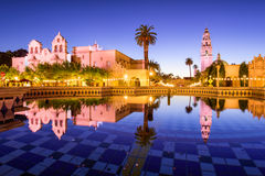 San Diego Park. San Diego, California, USA at Balboa Park Royalty Free Stock Image