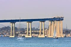 San Diego - ponticello di Coronado Fotografia Stock Libera da Diritti