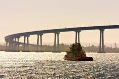 San Diego - ponticello di Coronado Immagini Stock
