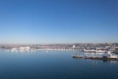 San Diego port Royaltyfri Fotografi