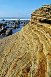 San Diego Rocky Coast, Cabrillo-Monument Stockbild