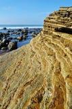 San Diego Rocky Coast, monumento de Cabrillo Imagen de archivo