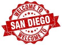 San Diego round seal Royalty Free Stock Photos