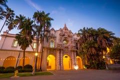 San Diego's Balboa Park in San Diego California royalty free stock photos