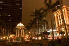 San Diego's Gaslamp district Royalty Free Stock Image