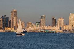 San Diego Sailing Stock Photography