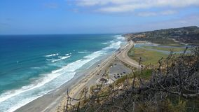 San Diego Seascape Royalty Free Stock Photography