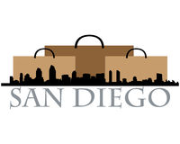 San Diego shopping Royalty Free Stock Photo