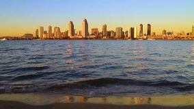 San Diego Skyline stock footage