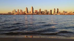 San Diego Skyline stock video